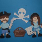 "3"" Customized Pirate Set - 4 pcs"