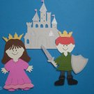 "3"" Customized Prince and Princess set - 3pcs"