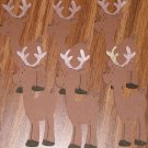 "3"" Reindeer Set - 6 pcs"
