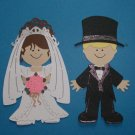 """3"""" Customized Bride and Groom"""
