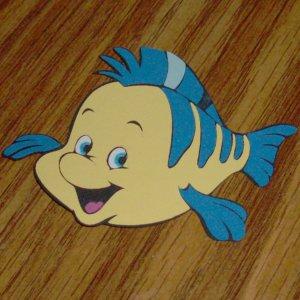 "Little Mermaid's - Flounder 2 1/2"""