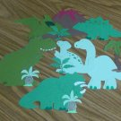 12 pc Dinosaur Die Cut Set