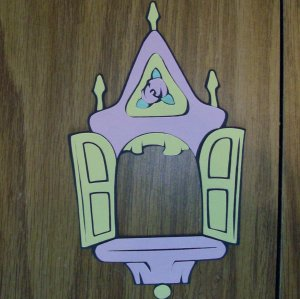 "6""  Beauty and the Beast Picture Frame"