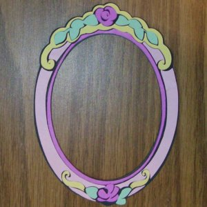 "5 1/2""  Beauty and the Beast Picture Frame"