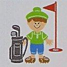 "3"" Customized Golfer"