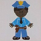 "3"" Customized Police Officer"