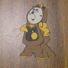 "Beauty and the Beast's Cogsworth - 2 1/2"" Die Cut"