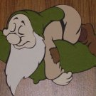 Snow White's-Sleepy Dwarf Die Cut