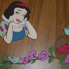"3"" Snow White Bodice and Corner Border Die Cut"
