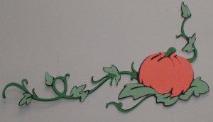 Pumpkin Corner Border (Cinderella)