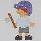 "3"" Customized Baseball Player"