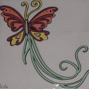"2""  Tinkerbell's Flying Butterfly Friend"