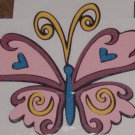 "3 1/2""  Tinkerbell's Butterfly Friend"