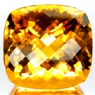28.80 Ct.Magnificent! Checkerboard Golden Yellow CITRINE