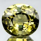 1.34 Ct.Delightful Oval Natural Yellowish Green Tourmaline