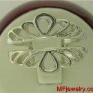 Beautiful New Wedding Ring Wrap Guard Sizes 4-10 White Gold 14kt