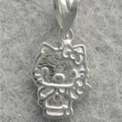 NEW HELLO KITTY PENDANT 14KT WHITE GOLD lp52