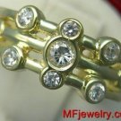 .30ct 14kt Yellow Gold Genuine Diamond Right Hand Ring