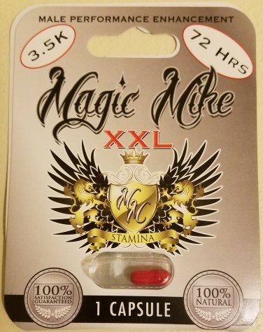5 Pack Authentic Magic Mike XXL Male Enhancement Pill