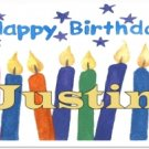 Birthday Candy Bar Wrapper Bd027