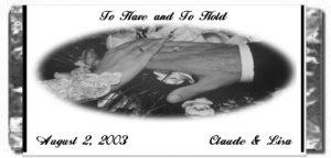 Wedding Wrapper We015