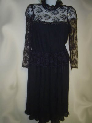 Lizzy and Johnny by Lucero Black Lace Dress
