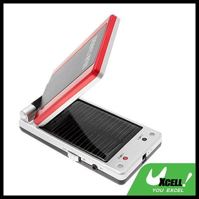 Clamshell Solar Charger for Mobile Phone Nokia Samsung Sony Ericsson MP3 MP4