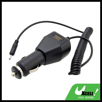 Cell Phone Car Charger for Nokia N80 - Black