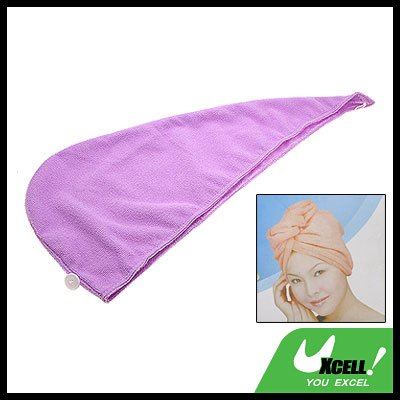 Magic Purple Hair-drying Cap for Lady