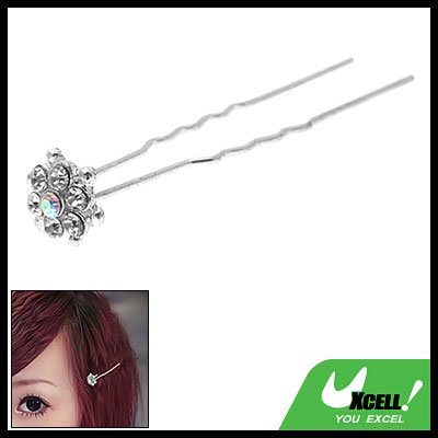 Jewelry Rhinestone Hair Decor Stick for Ladies Girls