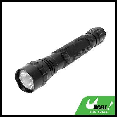 Micro 9V Powerful Aluminum Xenon Bulb Torch for Camping Hiking - Black long