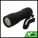 9 LED Powerful Camping Flashlight Torch Black
