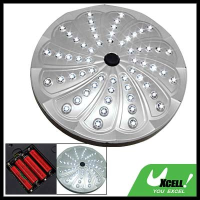 60 LED Round Portable Camping Night Light Lamp
