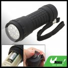 Mini 14 White LED Camping Flashlight Torch with Strap
