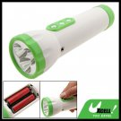 3 LED Emergency Flashlight Torch with FM Radio for Camping
