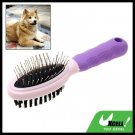 Purple Brush Pet Dog Grooming Shedding Brush