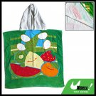 Kids Children's Hooded Bath Cotton Towel Fruit Pattern