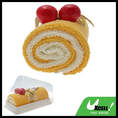 free shipping:Strong Absorbent Swiss Roll Soft Towel Washcloth Facecloth