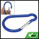 Snap Hook D Shape Aluminum Carabiner for Hiking Camping