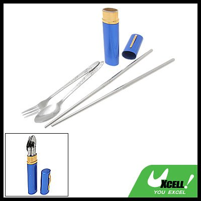 Picnic Camping Chopsticks Spoon Fork Tableware Set