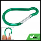 Hiking Camping Bi-colored Snap Hook Aluminum Carabiner