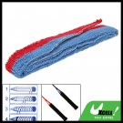 Red Blue Badminton Tennis Racquet Towel Towelling Grip