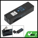 USB 2.0 bluetooth Dongle Adapter All in 1 Card Reader
