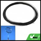 Slim Fibre Nylon Badminton Racket String Strap Black
