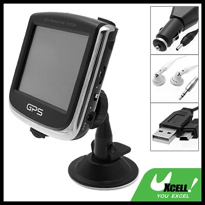 "Car 3.4"" Touch Screen Multimedia Player GPS Satellite Navigation System"