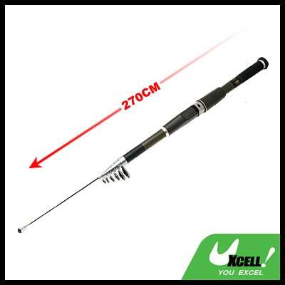 Mariner Stand Up Saltwater Bait Fishing Retractable Telescopic Rod-270cm