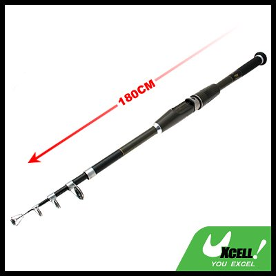 Mariner Stand Up Saltwater Bait Fishing Retractile Telescopic Rod-180cm