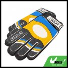 Football Soccer Ball Goalkeeper Gloves - Black and Yellow@