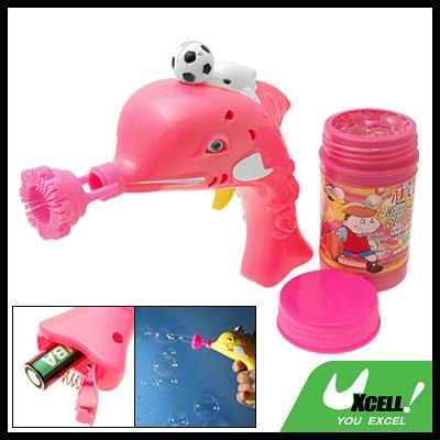 Children's Dolphin Football Soap Bubble Gun Water hubble-bubble Toy