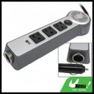 Multifunction Car Power Charger Adapter with USB AC Socket and Fan (12V to 110V)